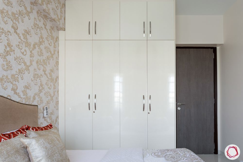 cabinet ideas-matte finished wardrobe
