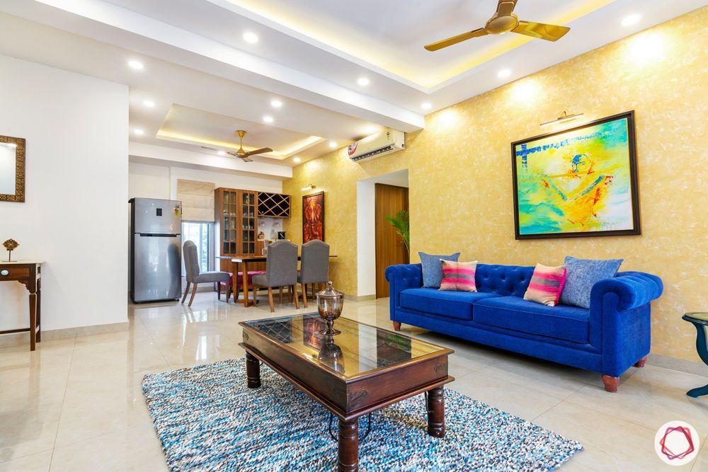 jal vayu vihar-dining table-living room