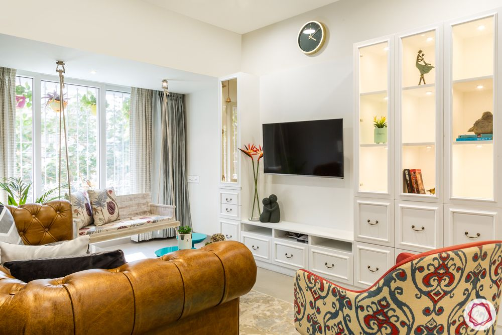 Interiors-in-Mumbai-living-room-TV-unit-vintage