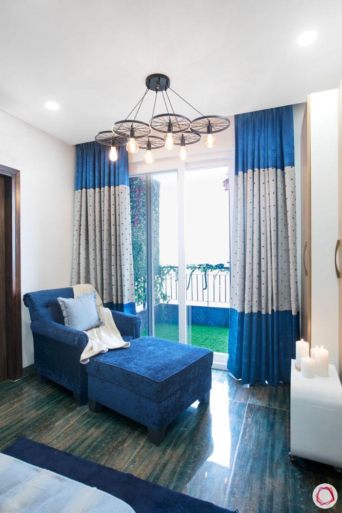 wagon wheel lights-blue sofa designs
