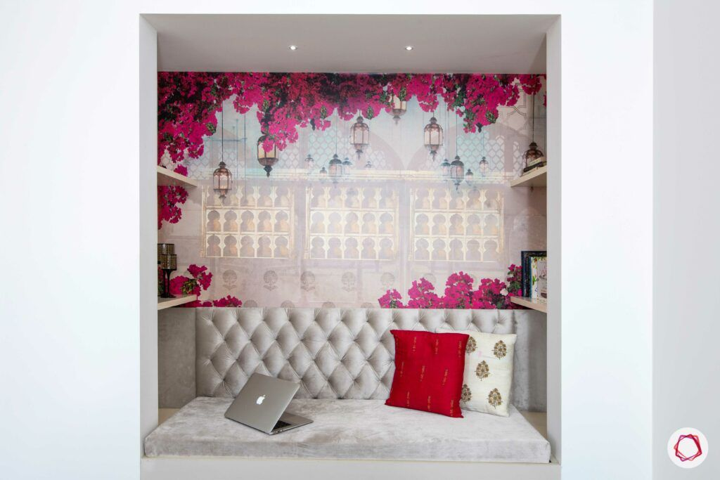 bookshelf-pink-wallpaper-nice-seating
