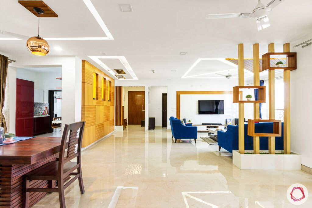 embassy pristine-partition designs-false ceiling designs