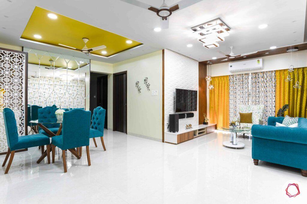 livspace mumbai-3-bhk-in-mumbai-living-cum-dining-room