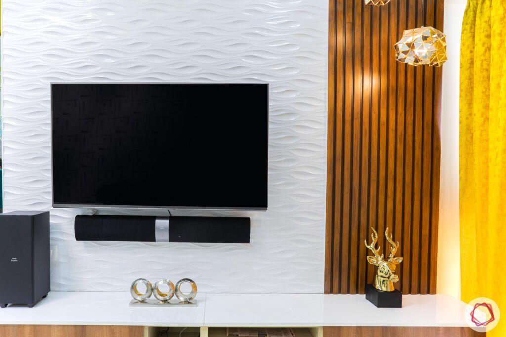 livspace mumbai-3-bhk-in-mumbai-living room-laminate tv unit-wooden rafters