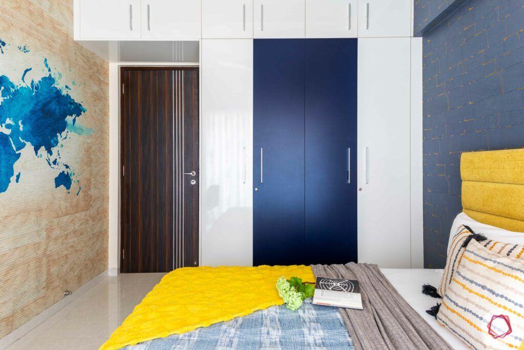 livspace mumbai-3-bhk-in-mumbai-kids bedroom-membrane wardrobe