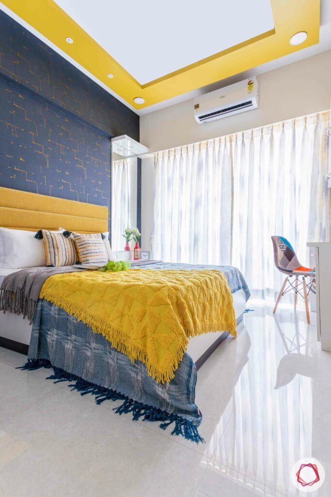 livspace mumbai-3-bhk-in-mumbai-kids bedroom-yellow false ceiling
