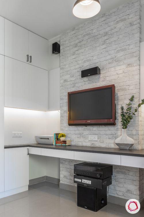 POP-designs-for-living-room-brick-wall-TV-unit