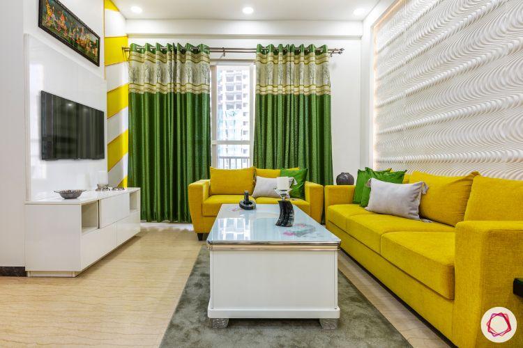 yellow sofa-popular sofa colors-two yellow sofas-3 seater sofa-2 seater sofa