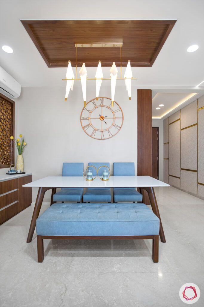 crescent-bay-parel-dining-room-lights-parrot-bench-false-ceiling
