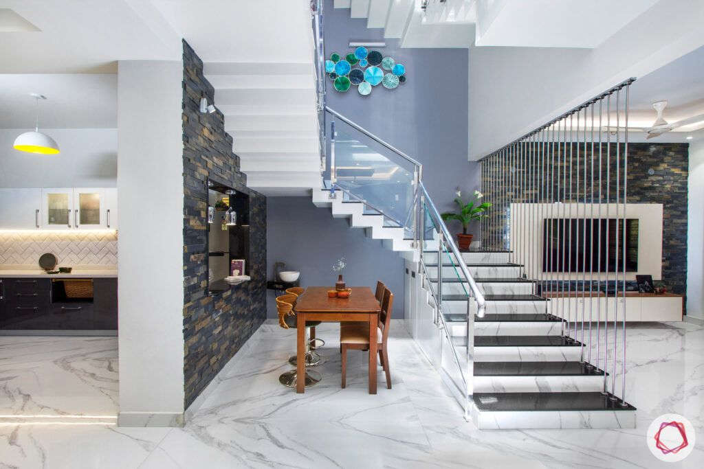 staircase vastu-wall art-railing designs-staircase