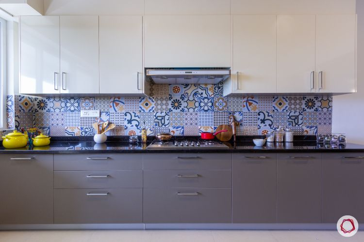 vitrified tiles-kitchen backsplash