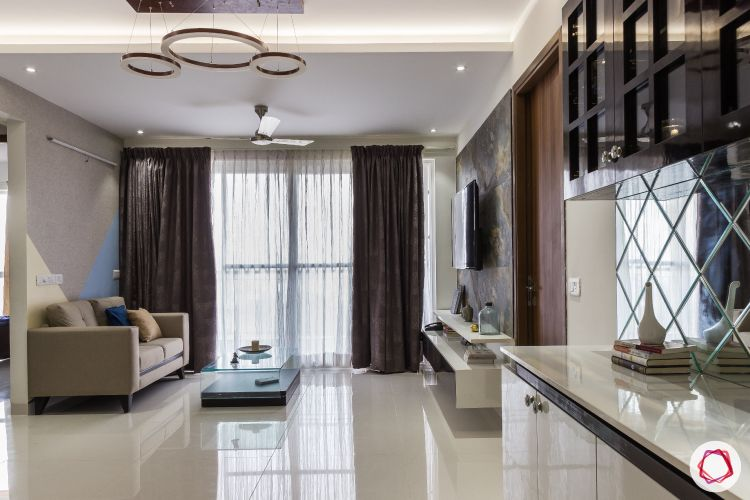 vitrified tiles-living room floor