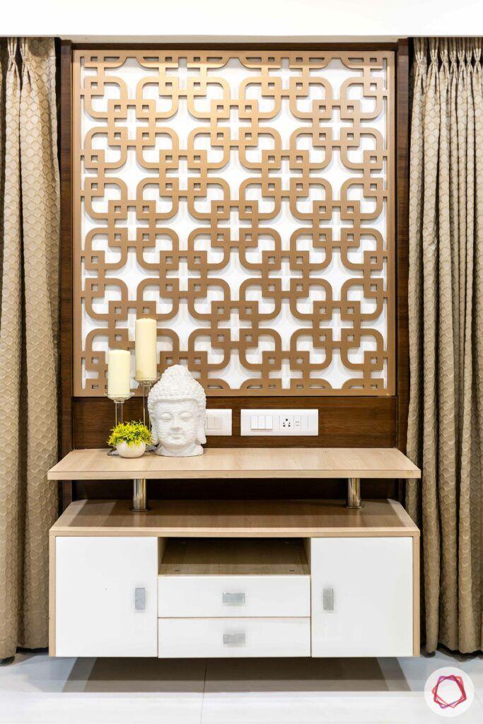 apartment interior design-console table-laminate console table