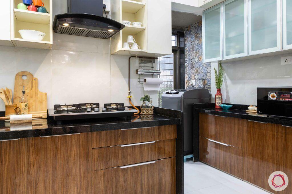 apartment interior design-kitchen-hob unit