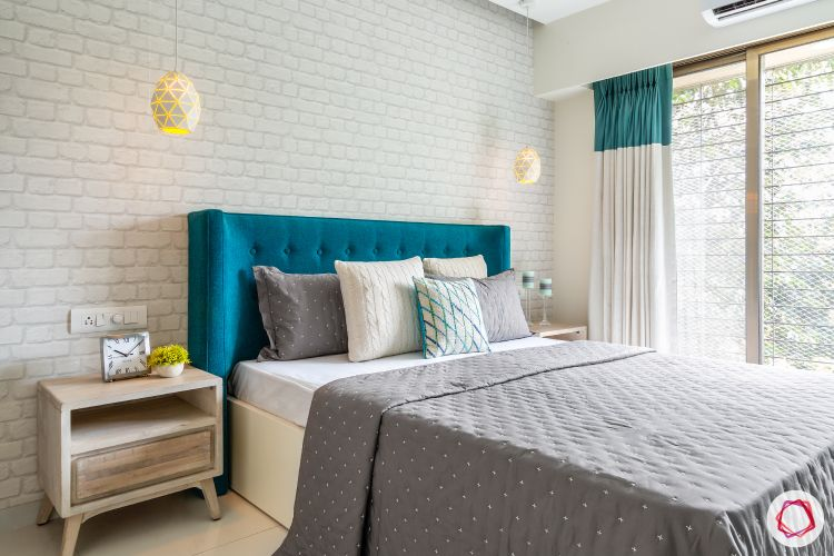 apartment interior design-master bedroom