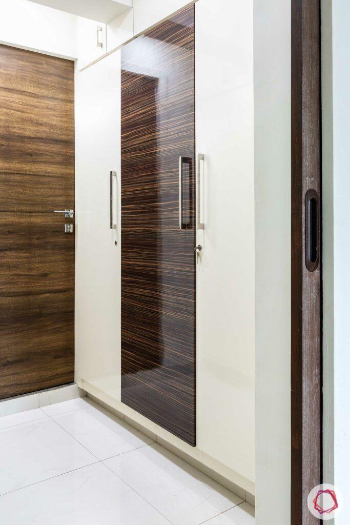 apartment interior design-master bedroom-walk-in wardrobe