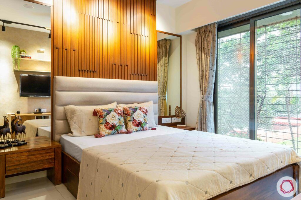 apartment interior design-parents bedroom