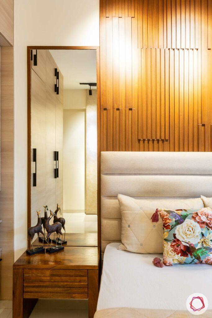 apartment interior design-parents bedroom-bedside dresser
