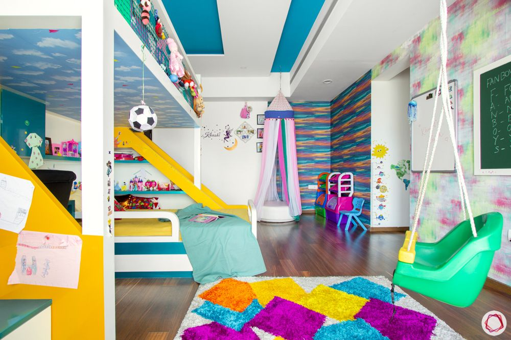 prestige-white-meadows-kids-bedroom-round-seater-slide