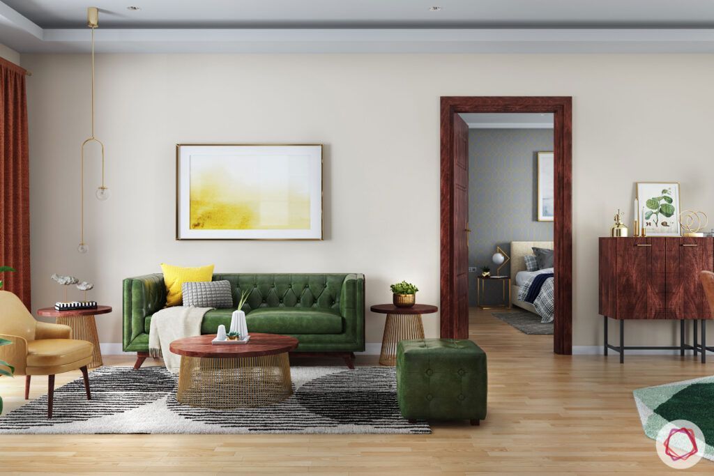 green sofa designs-green ottoman designs