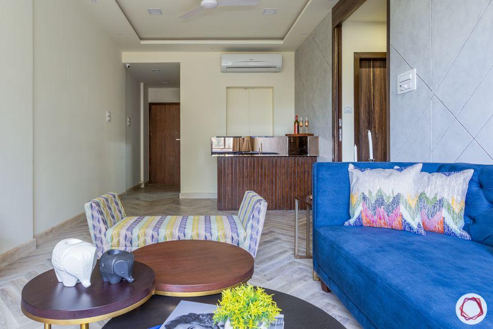 flat interiors-bar unit-bar corner