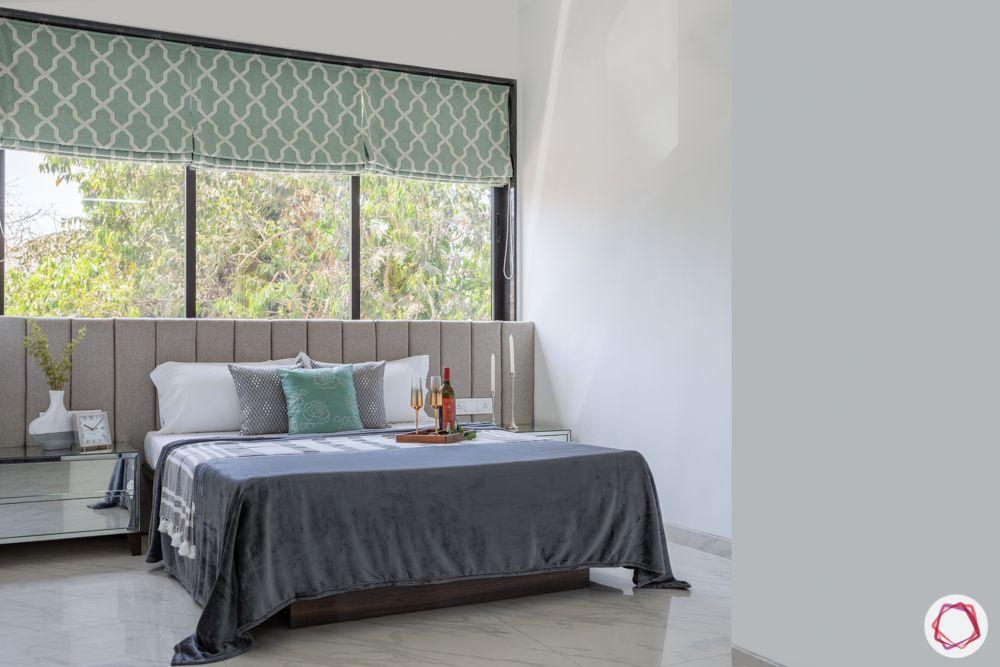 interior design for 2bhk flat in mumbai-master bedroom-full room-picture windows