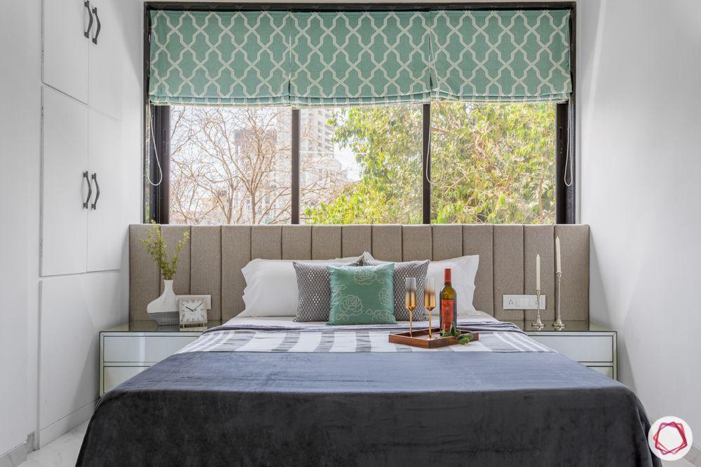 interior design for 2bhk flat in mumbai-bedroom-bed-windows