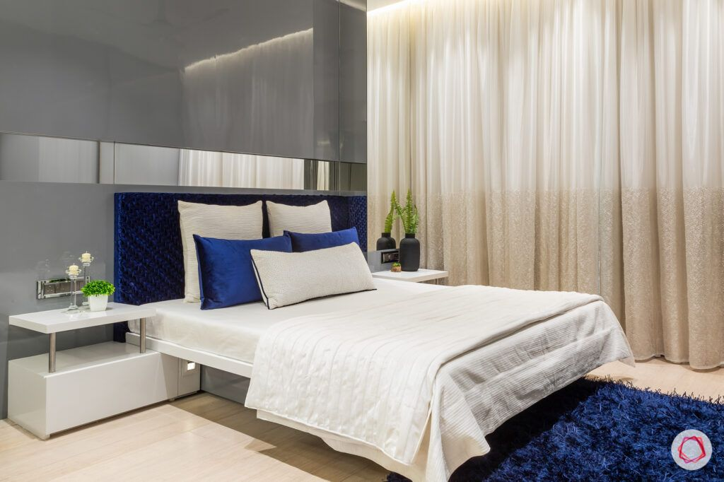 big house images-private rooms-bedroom-grey wall