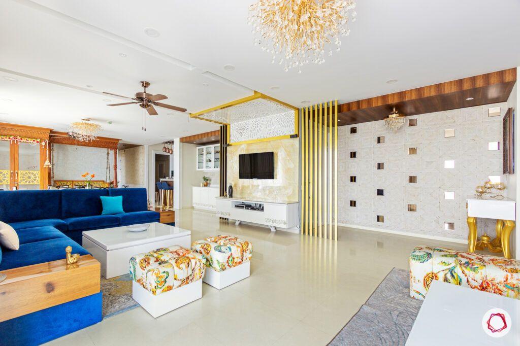 pop wall designs-foyer designs with pop