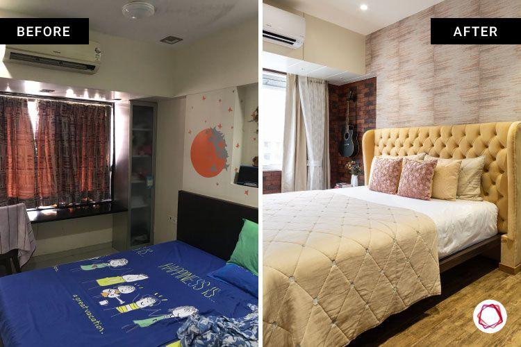 bed designs-headboard designs-wooden flooring