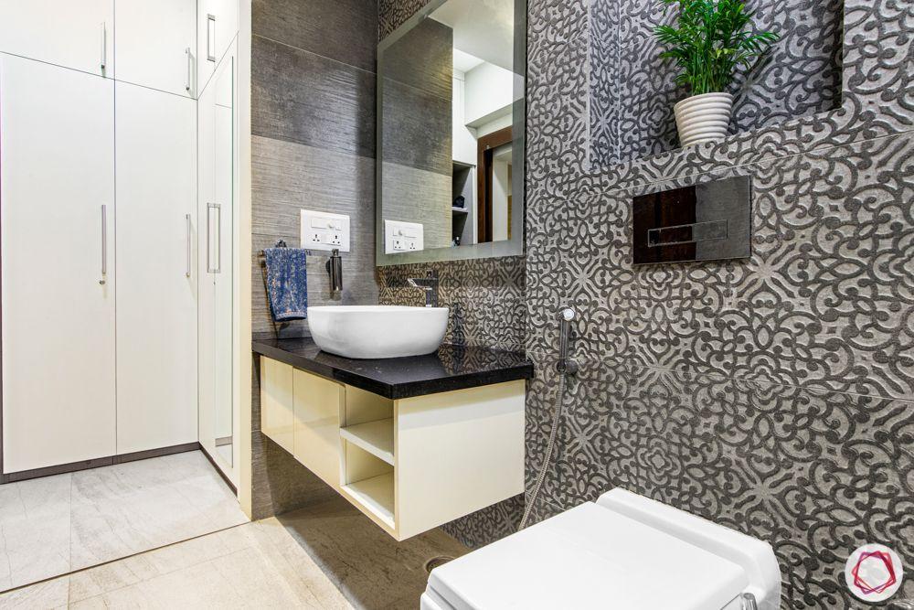 ardee city-white laminate wardrobe-bathroom tiles