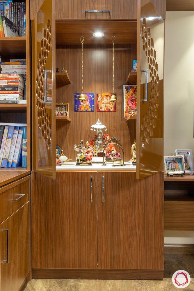 ardee city-wooden pooja unit-wooden jaali doors