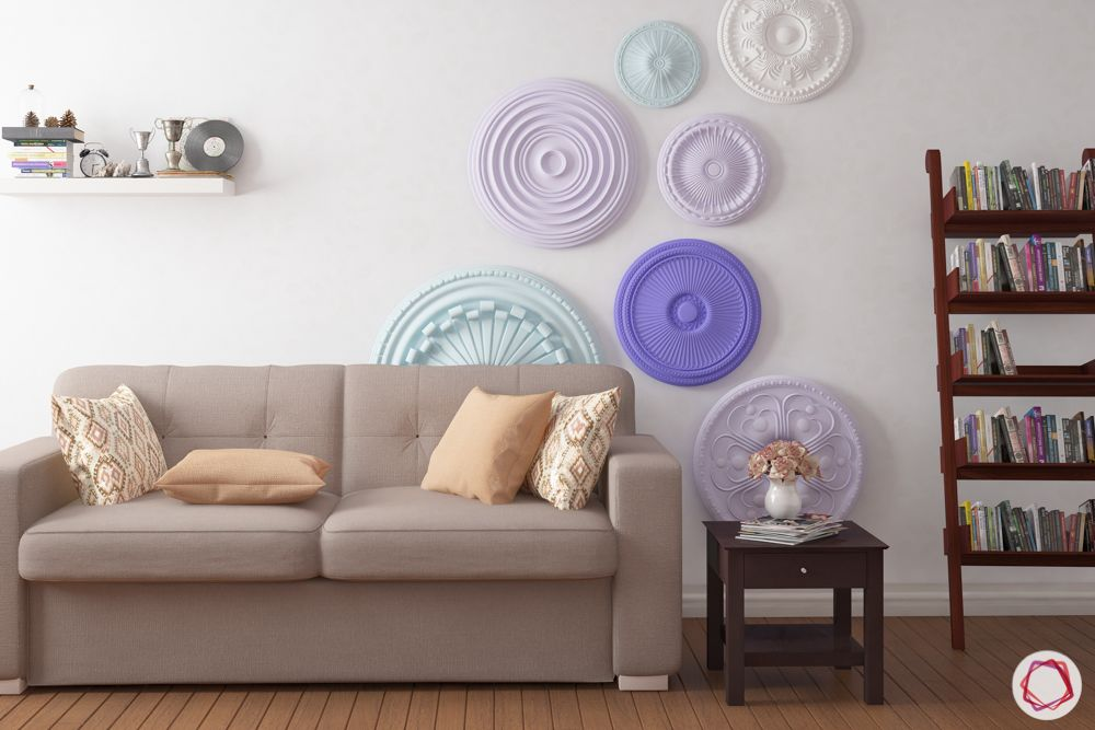 pop design for hall-wall accents