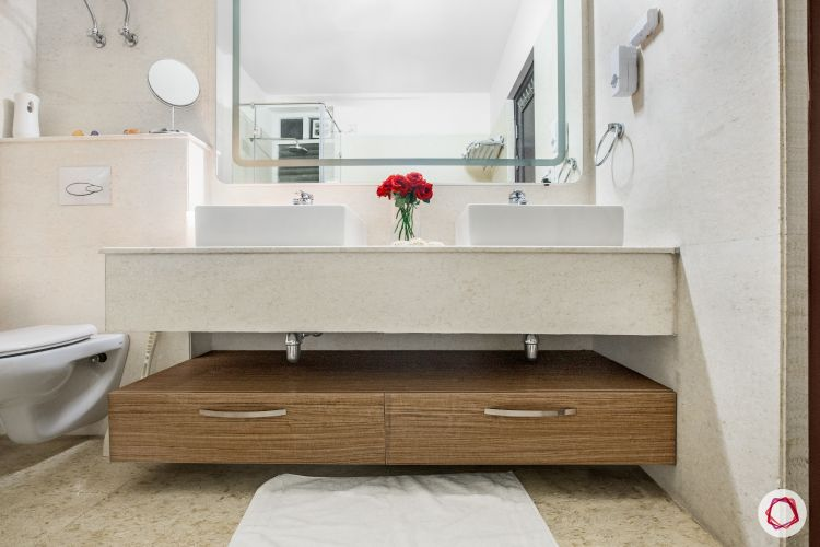 bathroom designs for small spaces-under counter storage