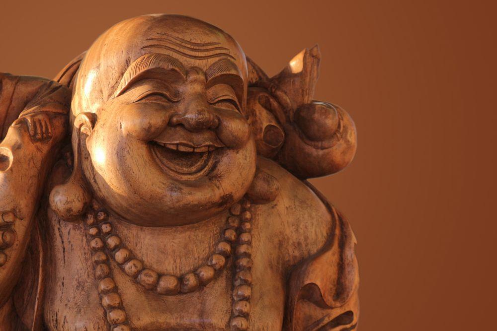feng shui tips-laughing buddha-sack