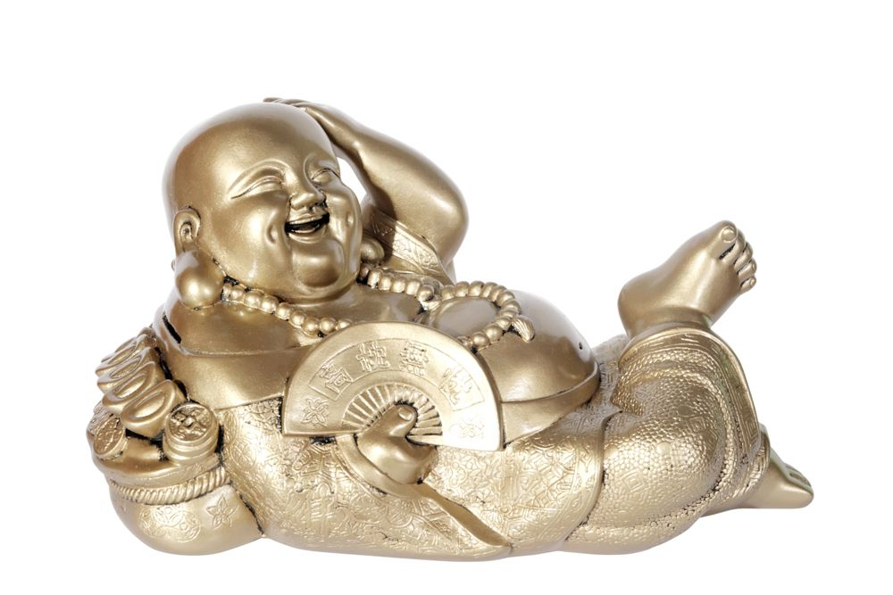 feng shui tips-laughing buddha-fan