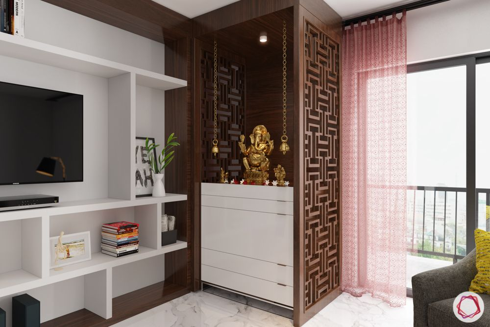 Create A Compact Mandir In Your Flat