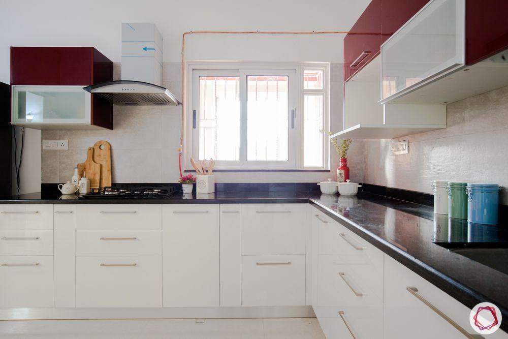 kitchen-chimney-granite countertop-acrylic finish