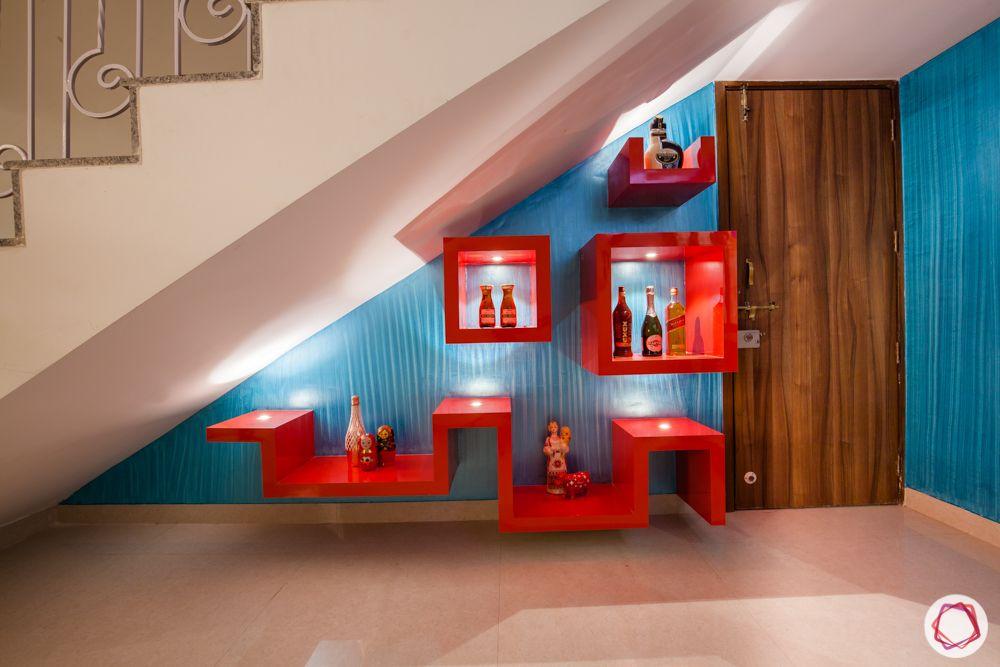 western hills baner-bar unit-display shelves-pigeon holes