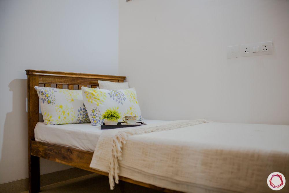 western hills baner-wooden single bed