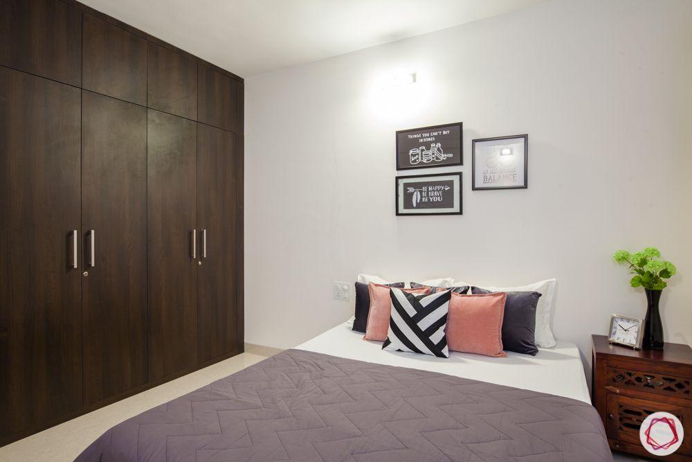 western hills baner-bedroom-posters-laminate wardrobe