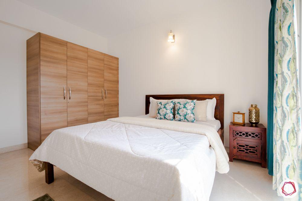 western hills baner-laminate wardrobe-side table