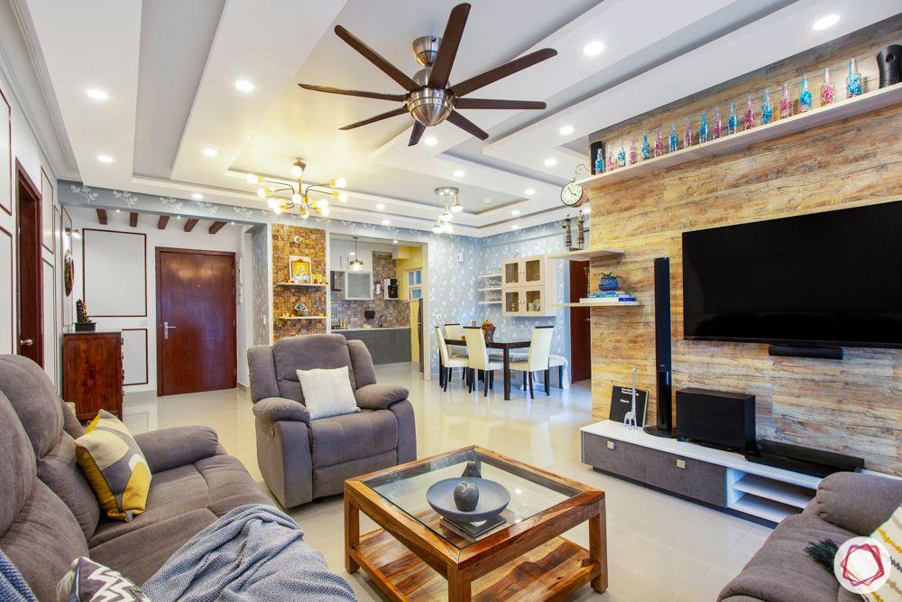 purva-highlands-living-foyer-false-ceiling-fan