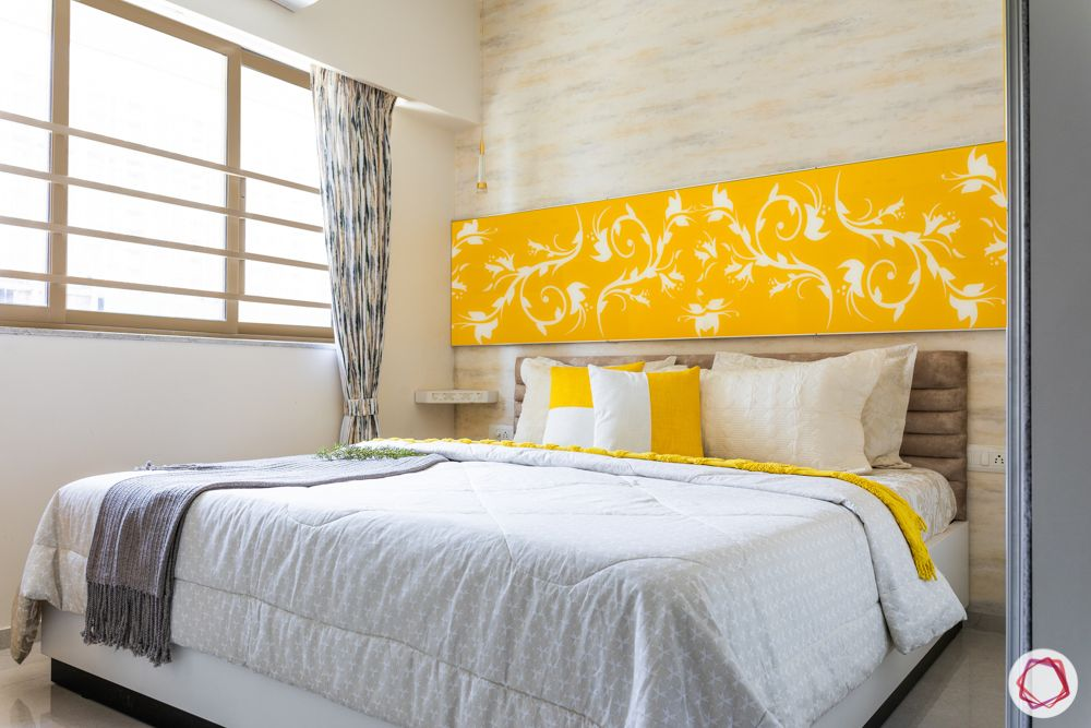 1-bhk-interior-design-bedroom-yellow room
