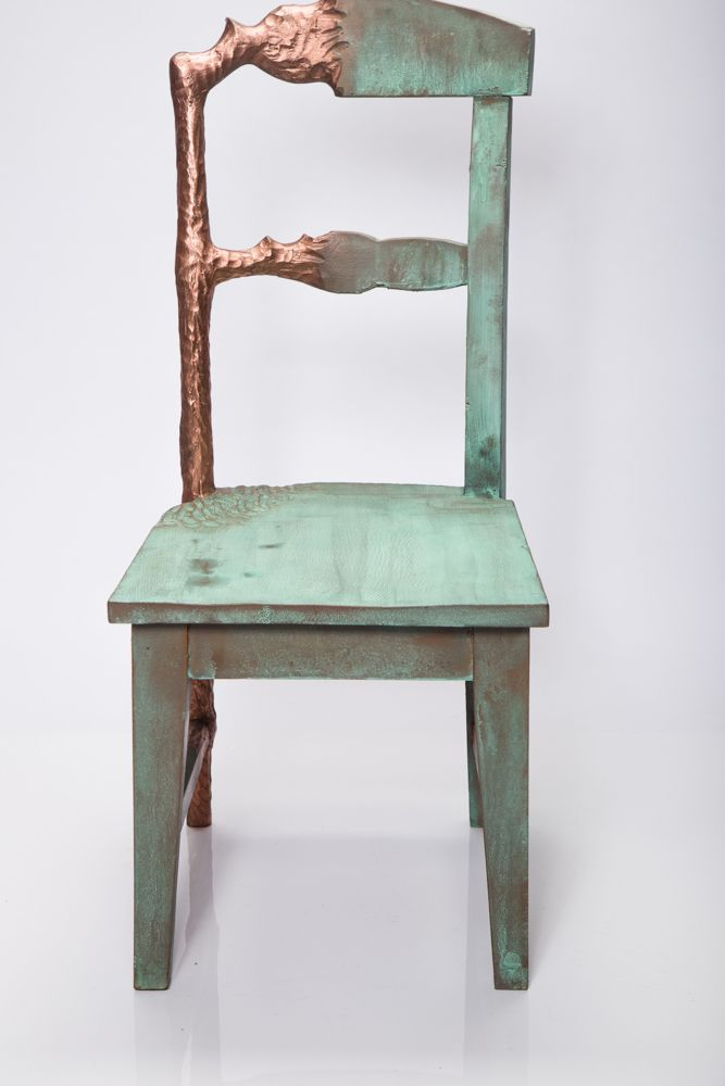 metal according to zodiac sign-copper-chair