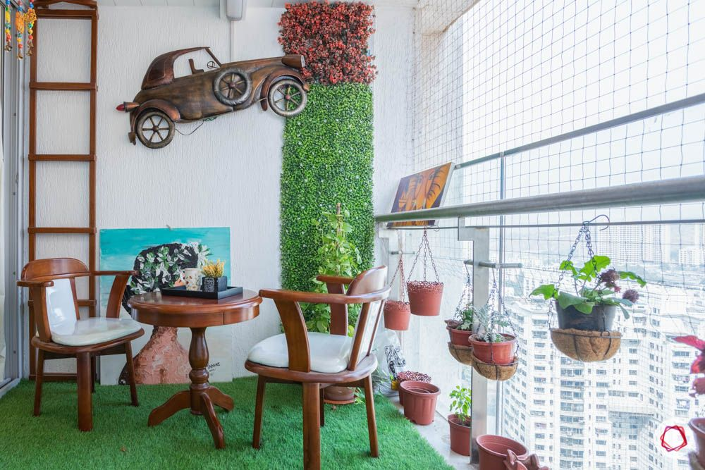 ideas-for-dead-space-in-living-room-balcony-wooden-chairs