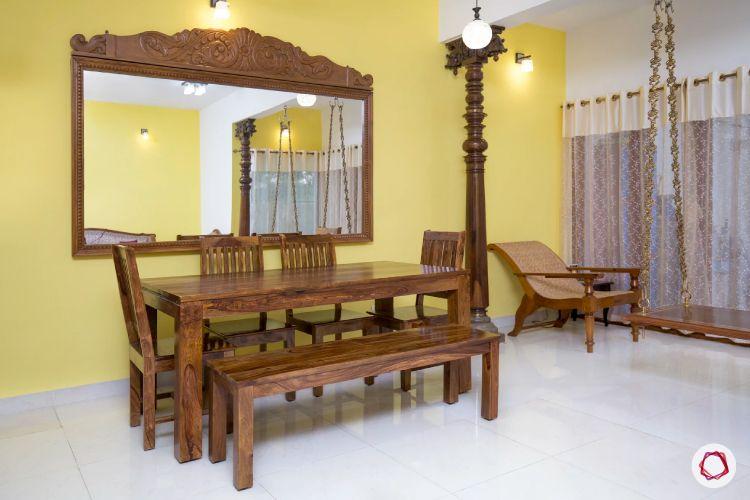 desi-decoration-wooden-mirror-wooden dining