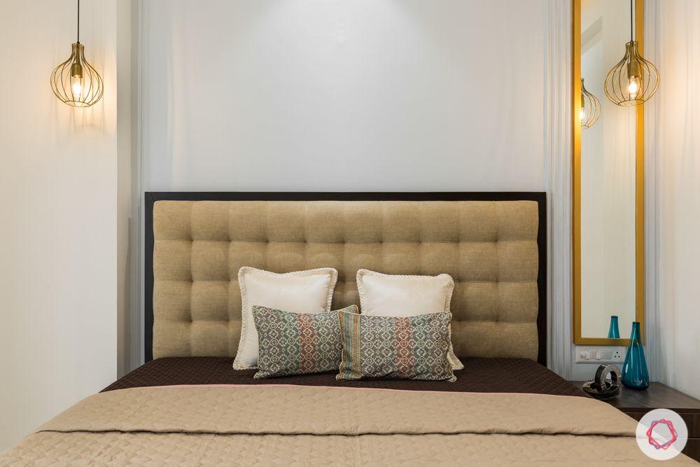Panchsheel-Pratishtha-guest-bedroom-headboard-pendant-lights
