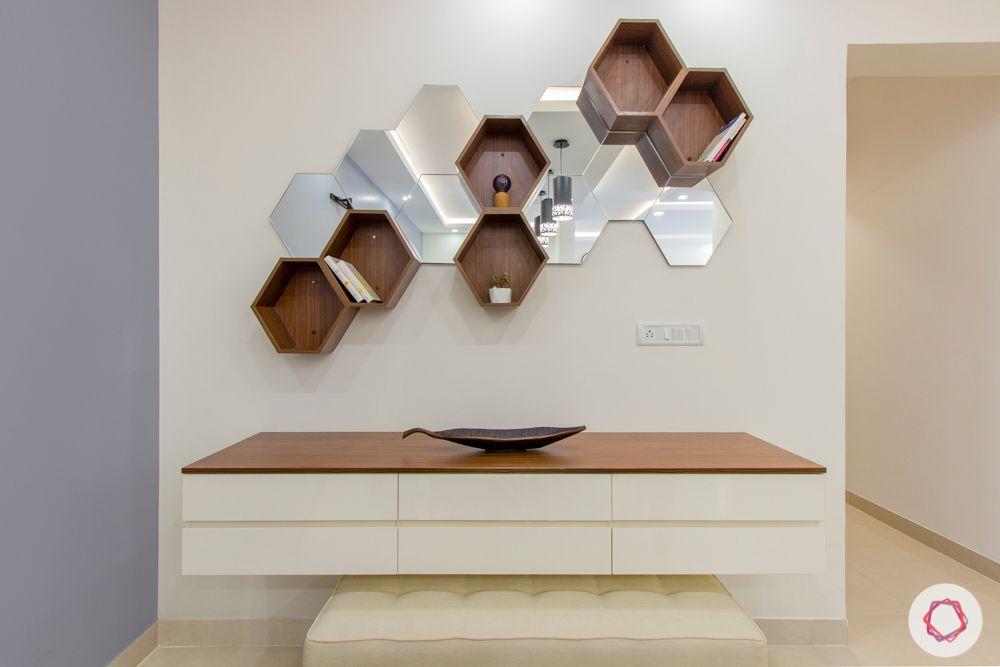 pigeon hole shelves-serving counter designs