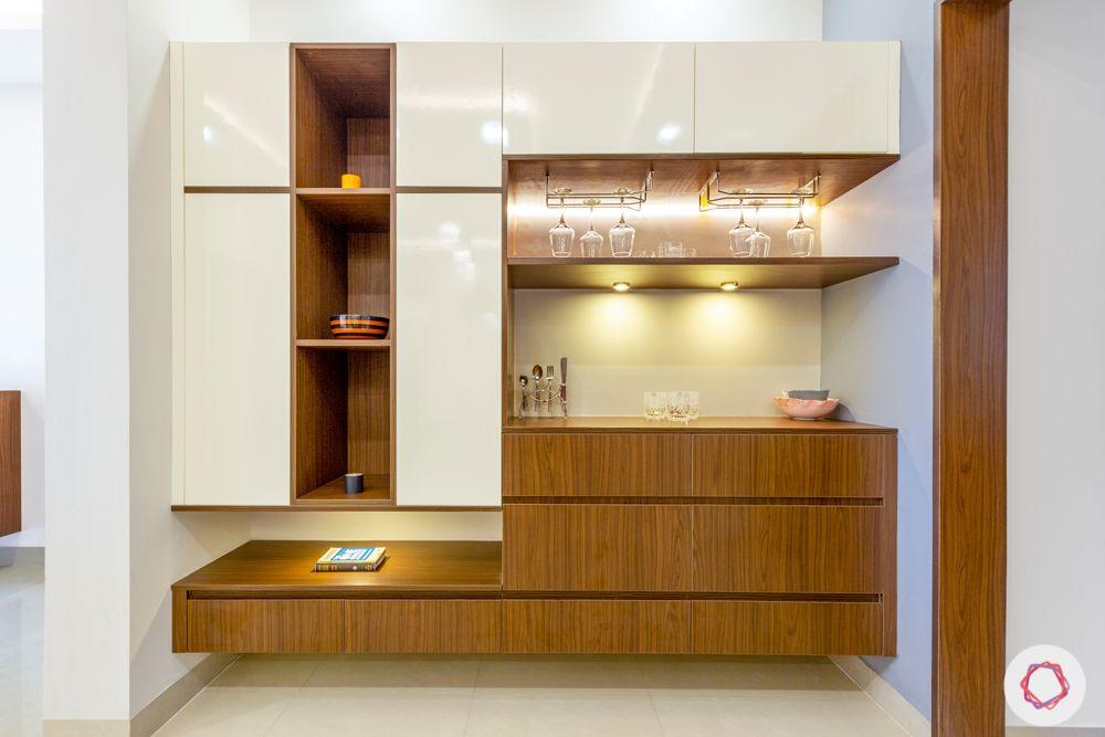 bar unit designs-crockery unit designs